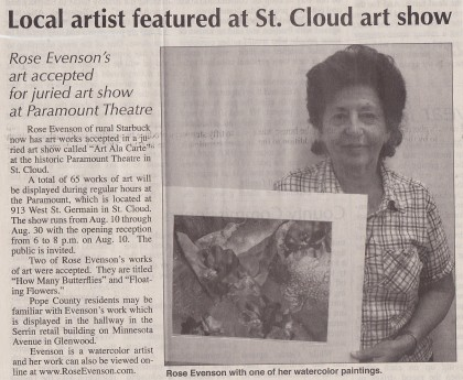 Saint Cloud Art Show 2009